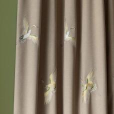 """Комплект штор  """"Амели"""" 02 с вышивкой. Бежевый"""