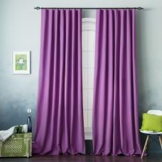 """Комплект штор с подхватами """"Вилли"""" 04 Фиолетовый"""