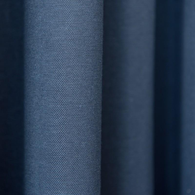 """Комплект штор с подхватами """"Вилли"""" 08 Синий"""