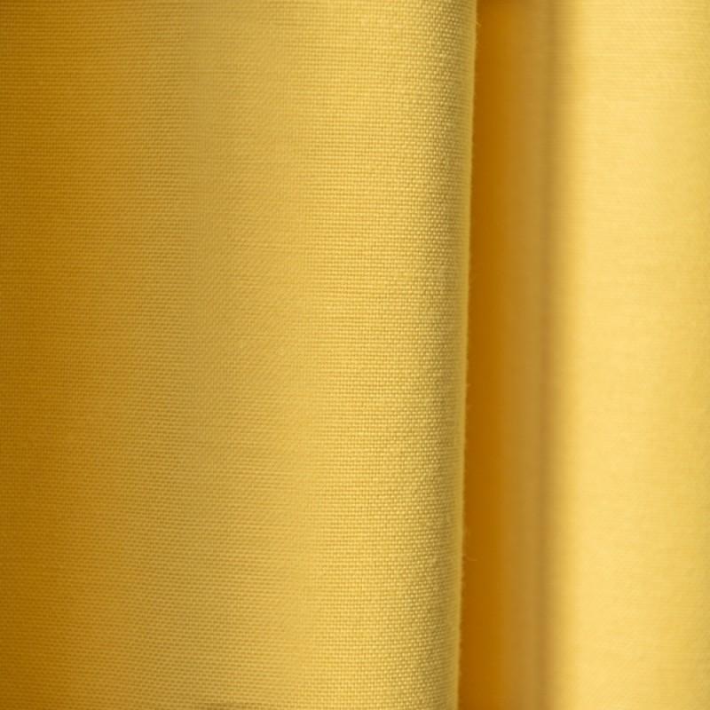 """Комплект штор с подхватами """"Вилли"""" 09 Желтый"""