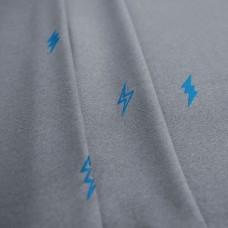 """Комплект штор  """"Поттер"""" 03 с вышивкой. Цвет серый"""